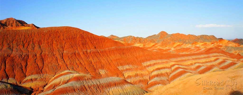 Danxia Landform - Rainbow Mountains