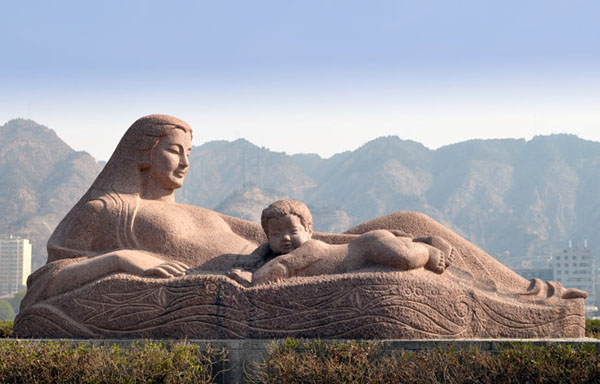The Yellow River Mother Sculpture