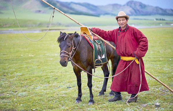 Nomads on the silk road