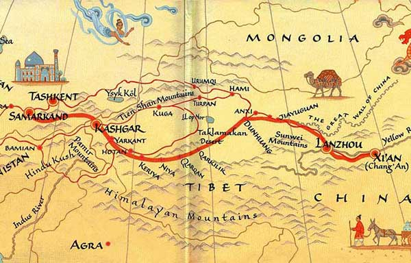 SILK ROAD CHRONOLOGY