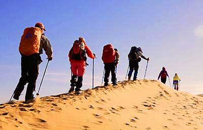 5 Days Dunhuang Desert Hiking Tour