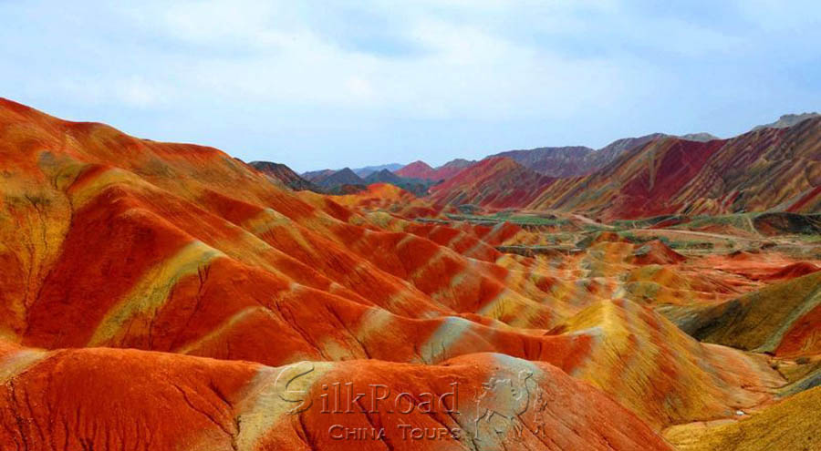 Zhangye Danxia Landform Rainbow Mountains Gansu