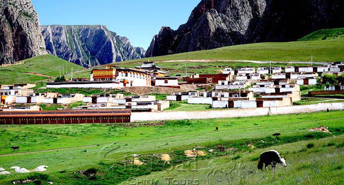 Xiahe Ganjia Grassland Lanzhou Gansu