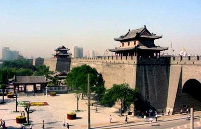 Xi 'an city wall