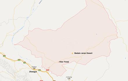 Alxa Youqi map